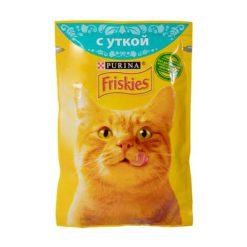 پوچ گربه با طعم اردک فریسکیز - اورجینال