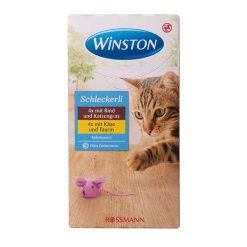 بستنی گربه وینستون دو طعم طعم پنیر و گوشت گاو (۸ عددی)