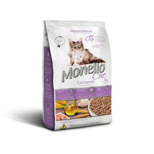 غذای خشک گربه مونلو عقیم شده با طعم مرغ Monello 1kg