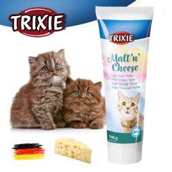 مالت گربه تریکسی با طعم پنیر 100 گرم