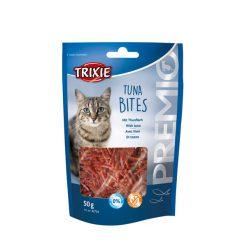 تشویقی گربه با طعم مرغ و ماهی تن تریکسی