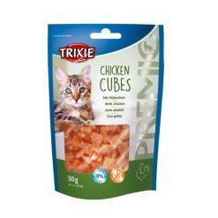 تشویقی گربه تریکسی مرغ و پنیر