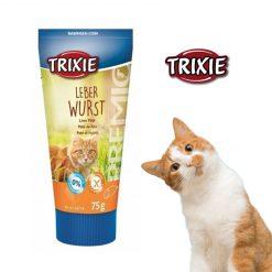 خمیر تقویتی گربه تریکسی حاوی جگر و تورین
