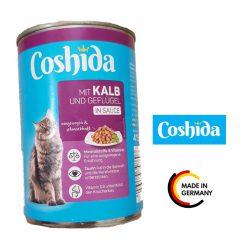 کنسرو گربه کوشیدا طعم بوقلمون در سس مخصوص 400gr
