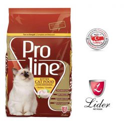 غذا خشک بچه گربه پرولاین طعم مرغ 1.5kg