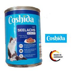 کنسرو گربه کوشیدا طعم ماهی در سس مخصوص 400gr