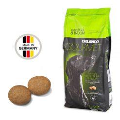 غذای خشک سگ اورلاندو نژاد بزرگ مدل گورمت 3kg + ارسال رایگان