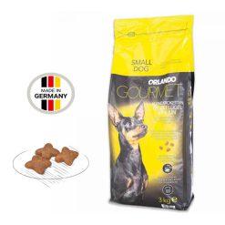 غذای خشک سگ اورلاندو نژاد کوچک مدل گورمت 3kg
