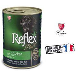 کنسرو سگ رفلکس پلاس طعم با طعم مرغ